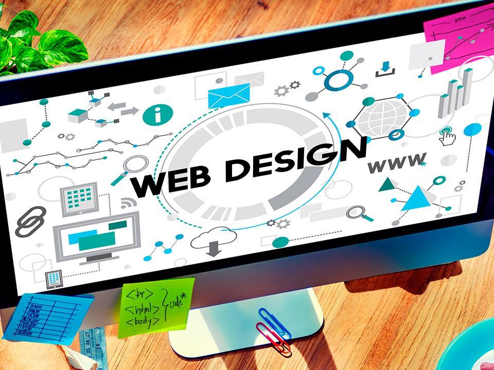 El diseño de una página web